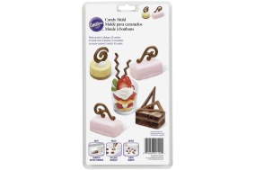 Chokladform - chokladdekorationer