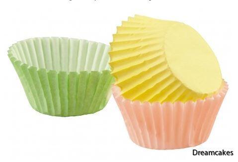 Söta formar till minimuffins/minicupcakes för dop och kalas