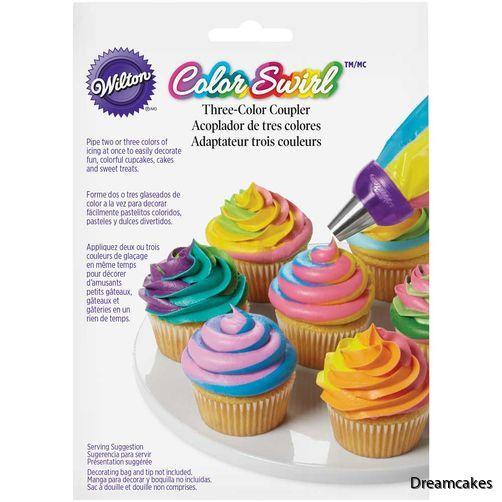 randiga muffins/cupcakes är lätt att göra med denna koppling