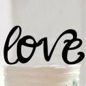 Brudpar  - Svart siluett Love