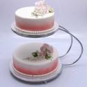 C-formad tårtställning