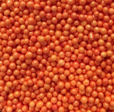 Glimrande kornströssel - Orange