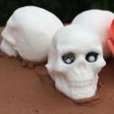 Gjutform Döskalle i 3D