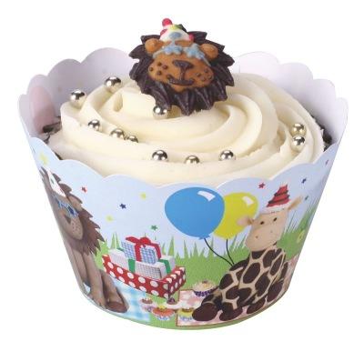Party Animal cupcake wraps