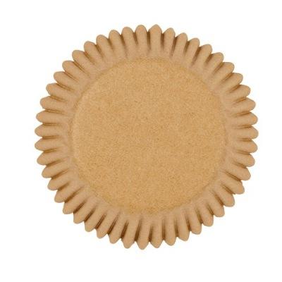 Minimuffins - Kraft Brown Mini baking case