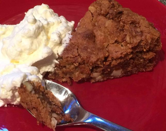 Läcker kaka i bakform