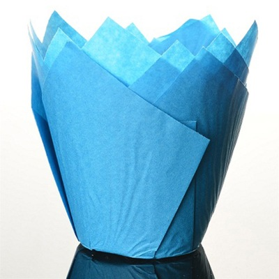 Tulpanform - Blå