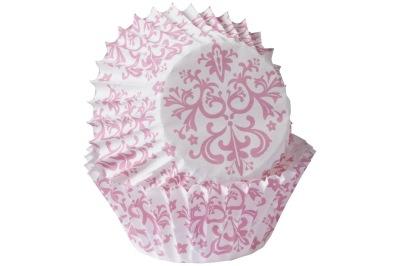 Minimuffinsform - Rosa damask