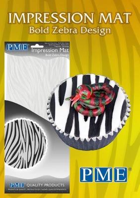 Mönstermatta - Zebra