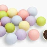 Chokladbollar - Pastell