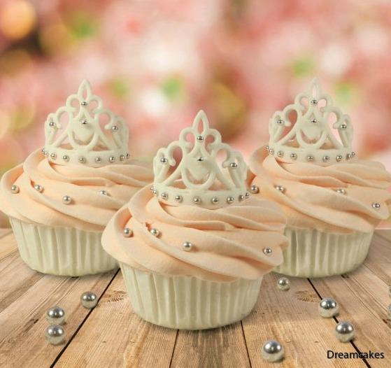 Så här söta blir tiarorna på dina muffins/cupcakes