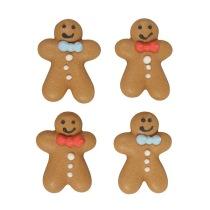 Fina tårtdekorationer för jul och vinterfester med muffins och cupcakes