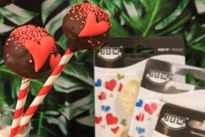 Tårtdekroationer för alla hjärtansdag med kärlek som tema!