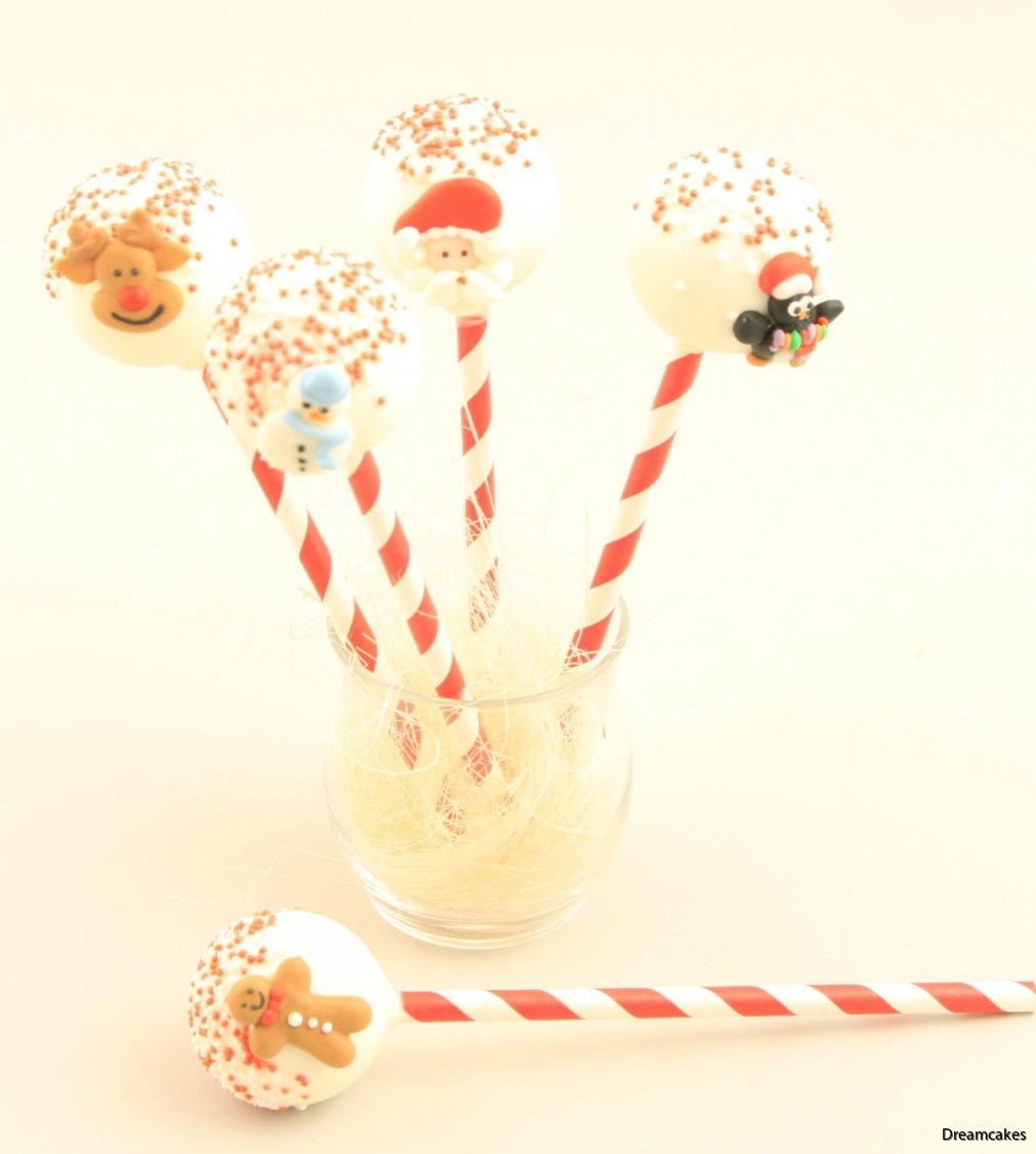 dekorera dina juliga cakepops med fina kristyrfigurer