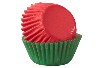 Minimuffinsformar Röd och Grön