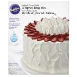 Whipped icing mix
