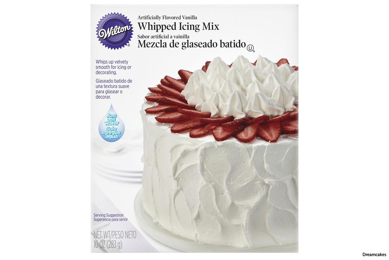 Läcker icing för tårta och cupcakes, fungerar både som topping och tårtfyllning