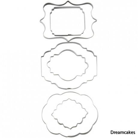 pepparkaksformar för kakor och tårtdekorationer