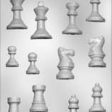 Chokladform Schackpjäser