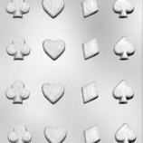 Chokladform Kortsymboler