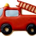 Pepparkaksform - Brandbil