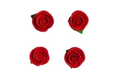 Kristyrros i 4-pack Röd