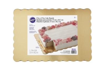 Tårtbricka i 3-pack