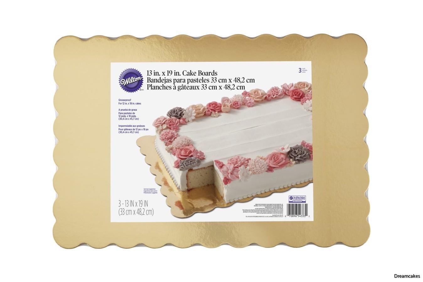 Fina tårtfat för långpannetårtor och rektangulära tårtor