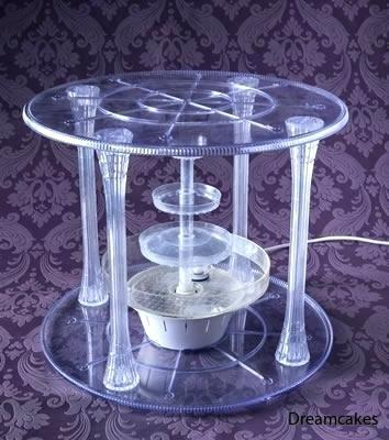 wilton-cake-stand-garden-crystal-plates-pillars-set-for-use-with-fountain-bridges-parts