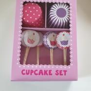 Cupcakes set - rosa