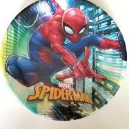 Papperstallrik - spindelmannen