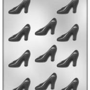 Chokladform Högklackad sko
