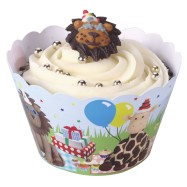 Party Animal cupcake wraps
