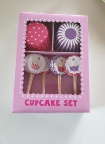 Cupcakes set - rosa -