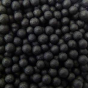 Strössel - Svarta pärlor 4mm