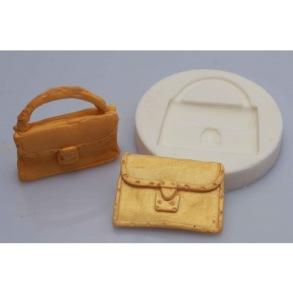 Silikonform - Handväska