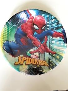 Papperstallrik - spindelmannen - spindelman - tallrik