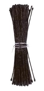 Stamens - svart pistiller för sockerblommor