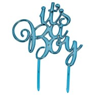 Cake Topper- It`s a Boy