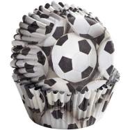 Muffinsform - Fotbollar