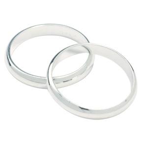 Bröllopsringar - Silver