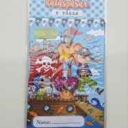 Kalaspåsar - Pirat