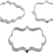 Plakettutstickare 3 pack