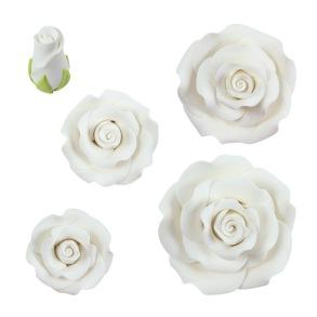 Vita rosor - Vit ros 2 cm (knopp)