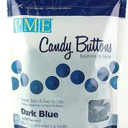 Candy Buttons - Dark blue vanilla