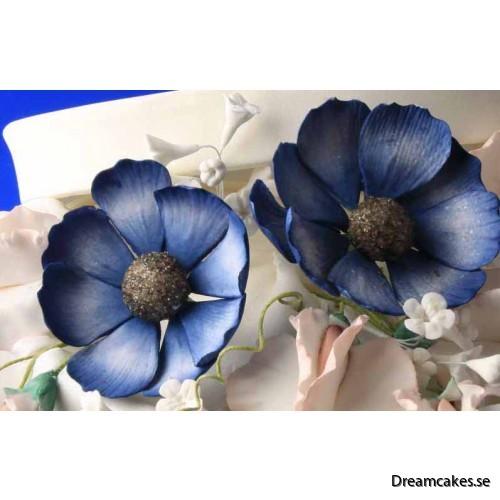 Gör en vacker blomma av socker med denna utstickaren
