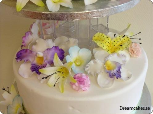 Så här fina kan dina sockerblommor/sugarflowers bli!