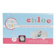 Cake Star Push Easy mini Lowercase Alphabet Cutters