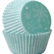 Muffinsform - Snöflingor