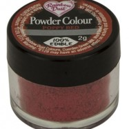 Pulverfärg - Rainbow Dust Poppy Red